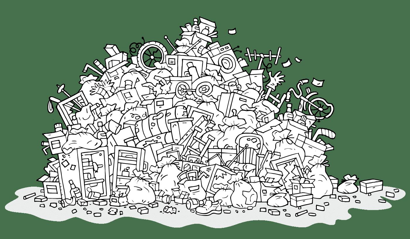 Entrümpelung, Demontage und Entsorgung