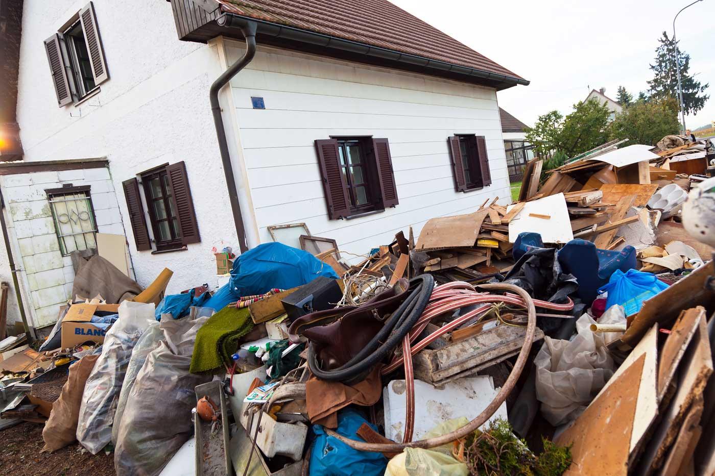Haus Räumung Wohnungsauflösung