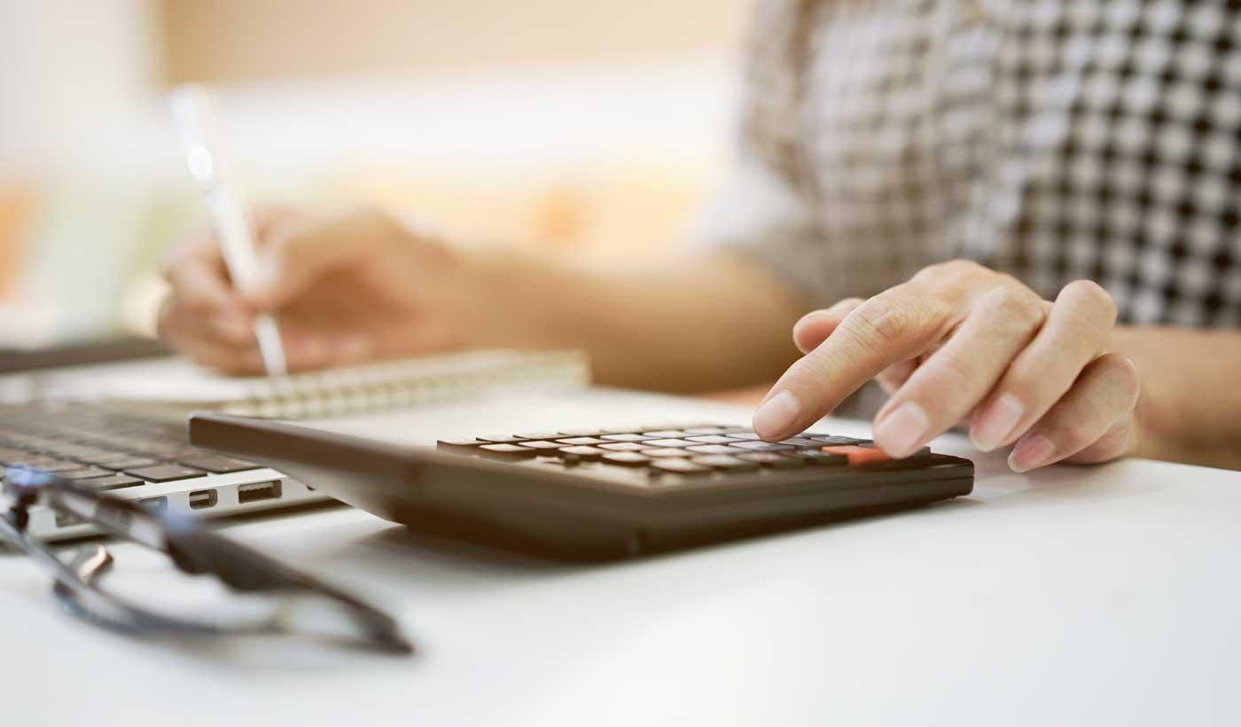 Haushalt auflösen Berechnung